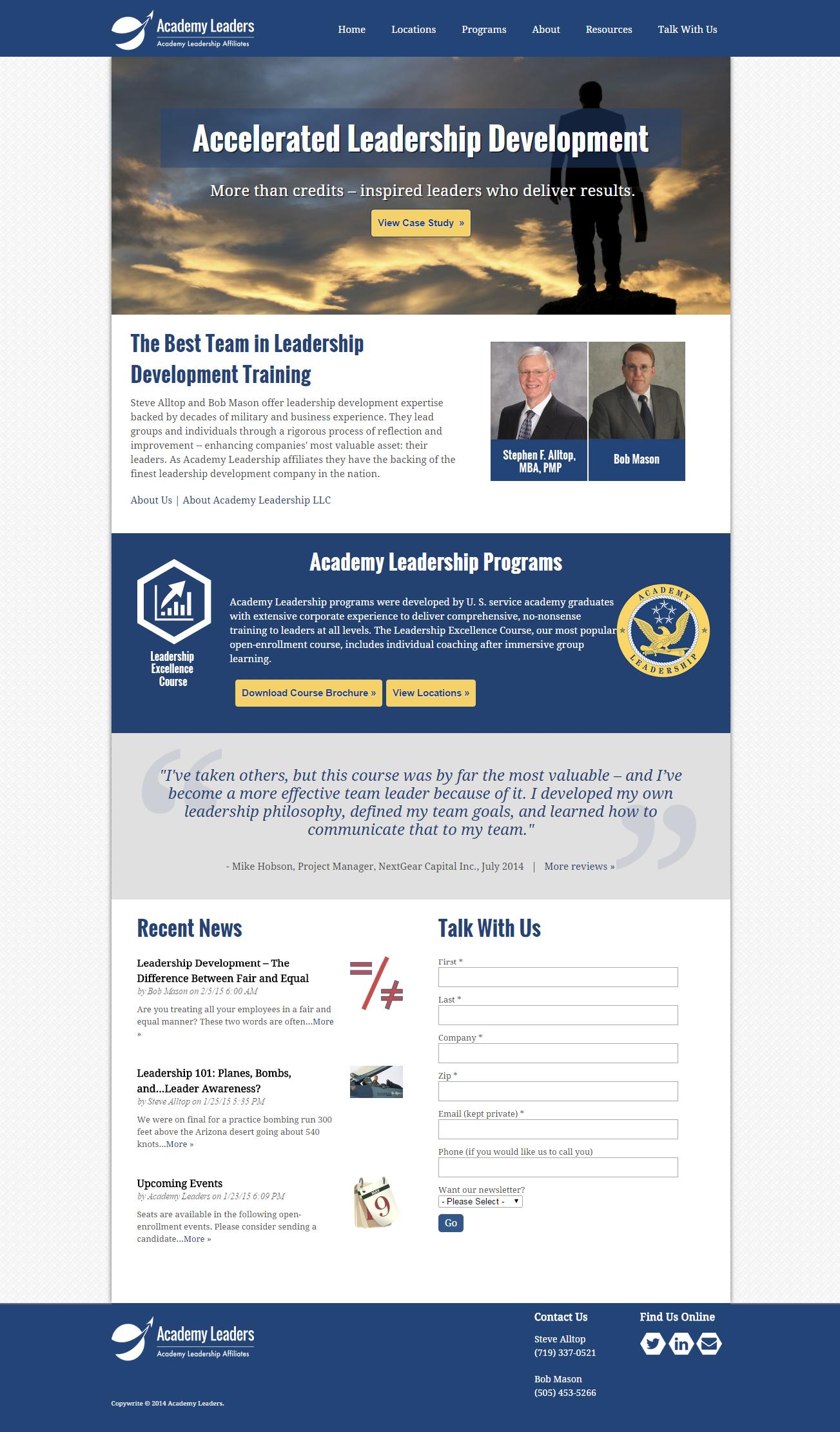 B2B built the client's website on the Hubspot COS