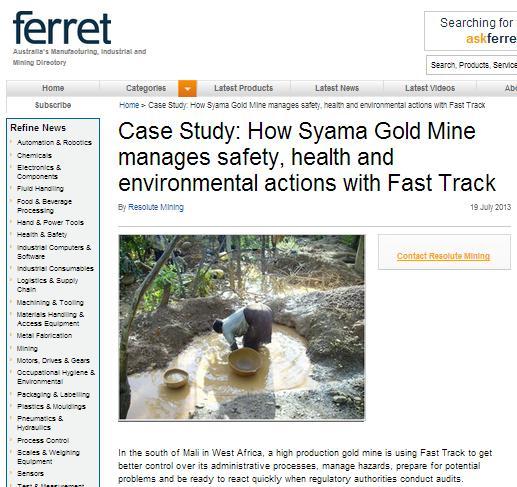 Click to go to Ferrett article