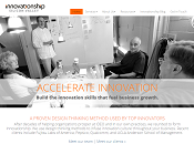 Innnovationship's new home page