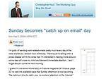 Christopher Null Post Screenshot
