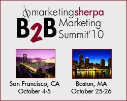 MarketingSherpa B2B Summit: Statistics, Social Media and the Sale