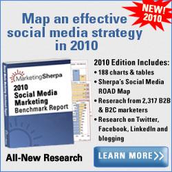 MarketingSherpa's New Social Media Marketing & PR Benchmark  Guide for 2010