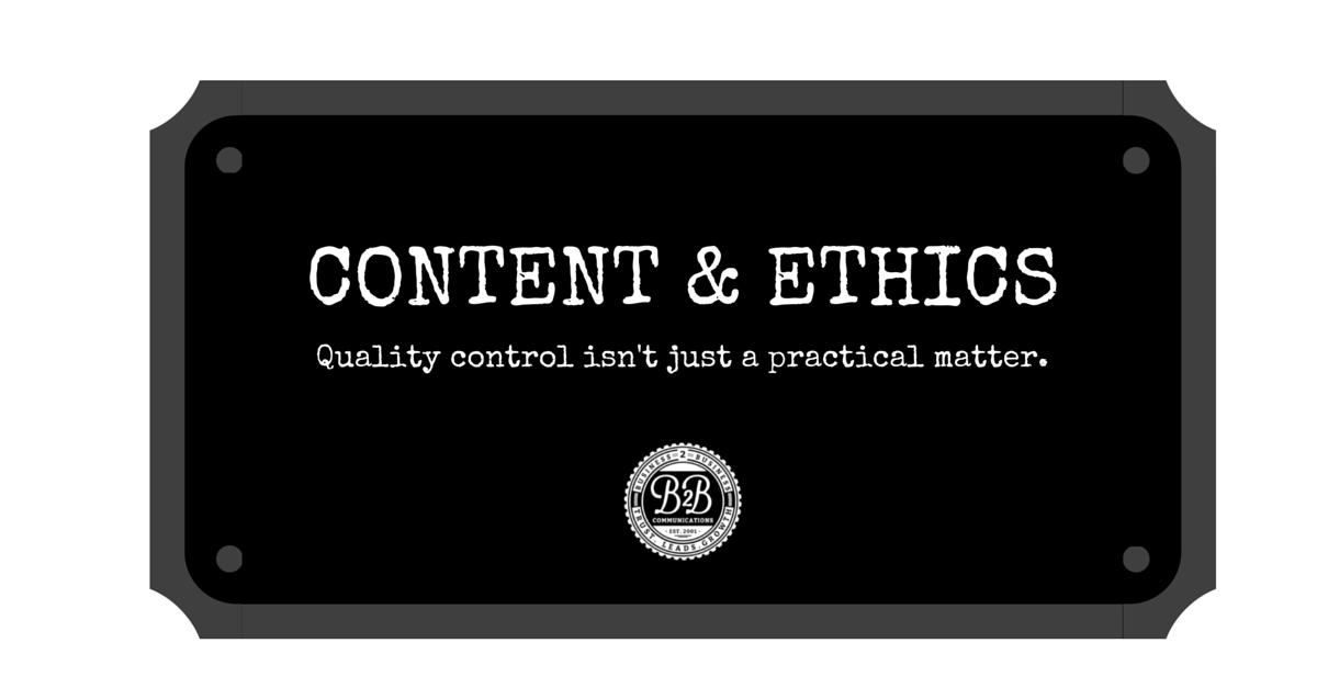 content marketing quality