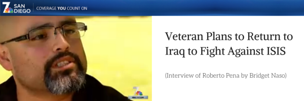United States Marine is returning to combat vs. ISIS
