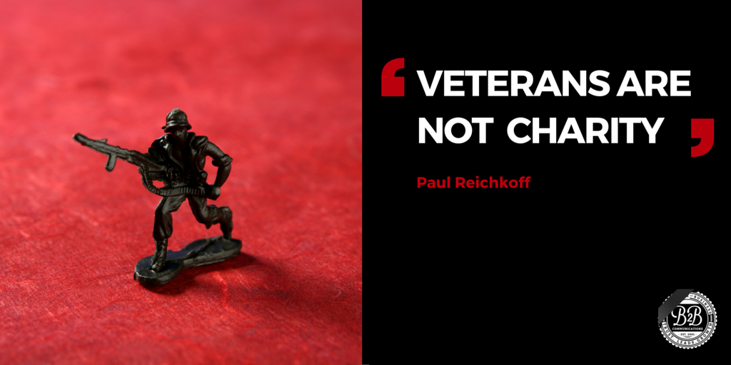 united states combat veterans are not a charity