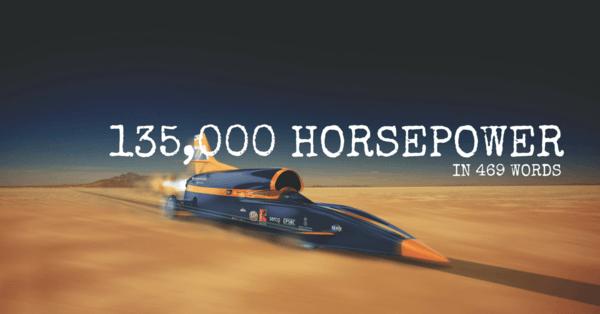 swagelok bloodhound supersonic car