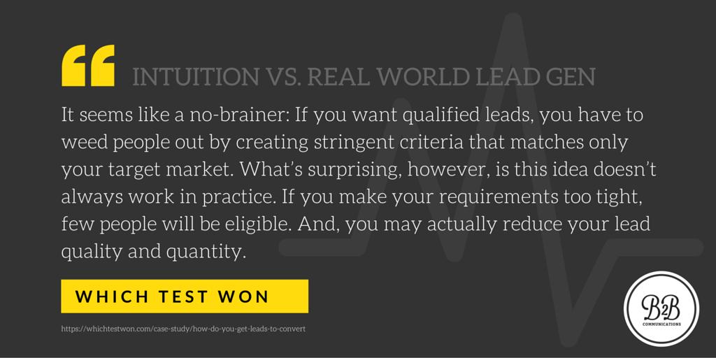 B2B Websites: Lead generation form dos & don'ts